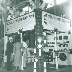 1940's trade show booth.