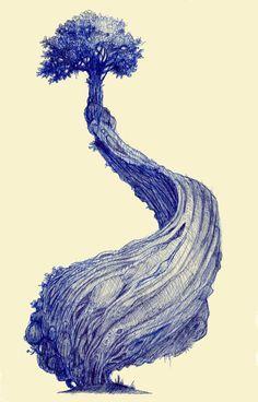 Tree sketch                                                                                                                                                      Plus