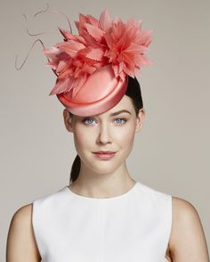 Juliette Botterill Millinery SS 2016 | Feather Silk Pillbox
