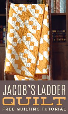 Make this stunning Jacob's Ladder Quilt with Jenny from Missouri Star!