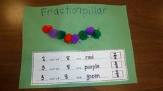 Fractionpillar!  So many great ideas on this blog!