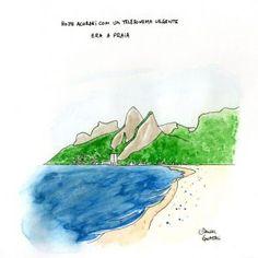 Ilustração do Rio por  Daniel Gnattali.