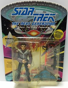 1992 Playmates Star Trek The Next Generation Figure - Romulan This item is NOT in Mint Condition and is in no way being described as Mint or even Near Mint. Our toys have not always lead the perfect l