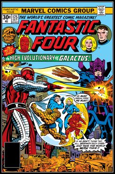 Fantastic Four #175, October 1976