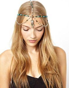Image 1 ofASOS Beaded Hair Crown