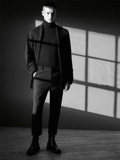 KNITS FOR AUTUMN | MAN-EDITORIALS | ZARA United Kingdom