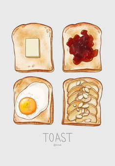 food illustrations / food illustrations _ food illustrations simple _ food illustrations watercolor _ food illustrations vector _ food illustrations cute _ food illustrations design _ food illustrations black and white _ food illustrations art Food Design, Food Art For Kids, Food Sketch, Watercolor Food, Food Stickers, Food Painting, Food Drawing, Drawing Drawing, Food Journal
