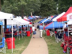 The Grove- no better place to be on a Saturday during Ole Miss football! Hotty Toddy!