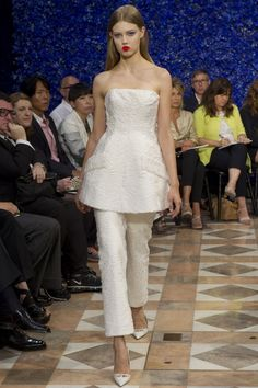 Christian Dior Haute Couture Fall 2012 collection.