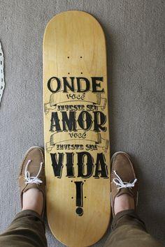 Skate Deck #1 by Jady Salvatico, via Behance