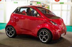 Best Electric Car, Electric Cars, Cute Small Cars, Mobiles, Kei Car, Solar Car, Microcar, Weird Cars, City Car