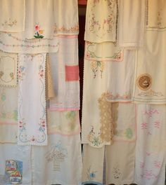 LONG Ago and FAR Away Handmade Gypsy Curtains by BabylonSisters