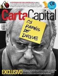 Os papéis de Duque Carta capital despolarizou o maniqueísmo PTxPSBD e faz um movimento apartidário anti-corrupção !   Jornalismo: ainda se vê por aqui, parabéns  revista Carta Capital. Leeia, assine: http://www.cartacapital.com.br/revista/843