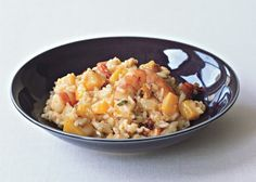 Butternut Squash Risotto with Shrimp