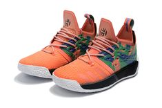New Harden Sneakers Adidas Harden 2 Boost Basketball Shoes Orange