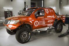 Edas Racing Team car ready for  Dakar 2016!