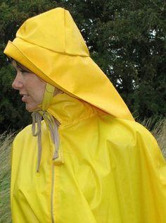 Raincoat Jacket, Yellow Raincoat, Rain Jacket, Girls Wear, Women Wear, Rain Hat, Walking In The Rain, Greatest Hits, Girls In Love