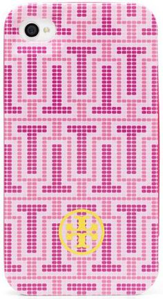 Tory Burch Limited-edition Pink Hardshell Phone Case- Supporting the Breast Cancer Research Foundation Breast Cancer Walk, Breast Cancer Support, Breast Cancer Awareness, Winter Stockings, Tory Burch, Pink October, Preppy Girl, I Believe In Pink, Pink Iphone