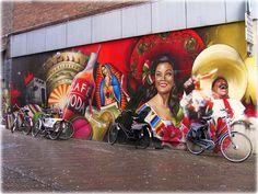 Mexican Graffiti, Mexican artists. #LoveMexico visita : www.redisenatuespacio.com
