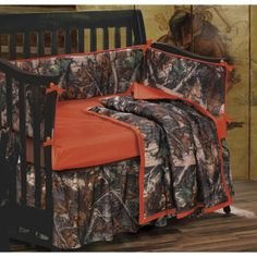 little boy camo crib sets | Cattleman Western Store Alvin Texas - Baby Camo Crib Set