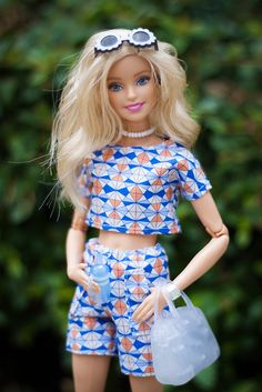 Barbie Y Ken, Barbie Stil, Barbie Dolls Diy, Barbie Fashionista Dolls, Diy Barbie Clothes, Barbie Life, Girl Dolls, Barbie Outfits, Barbie Dress