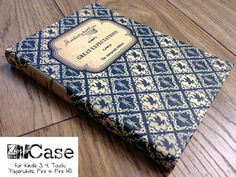 KleverCase's classic range tablet and e-reader cases are designed to imitate the look and feel of old leather-bound books. The cases are available in classic book titles like The Great Gatsby… Kindle Case, Leather Bound Books, Book Lovers Gifts, Classic Books, Material Girls, Book Worms, Handmade, Ebay, Book Covers