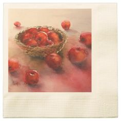 Apples, Apples 3 Disposable Napkins