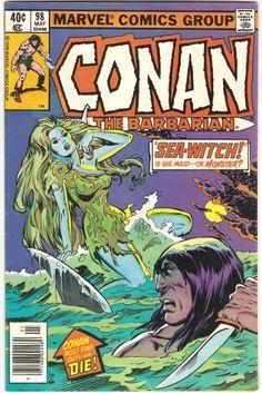 Conan The Barbarian. Vol. 1, No. 98. U.S. Marvel Comic. May 1979.