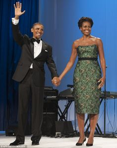 US President Barack Obama and First Lady Michelle Obama attend the Congressional Hispanic Caucus Instituteís 34th Annual Awards Gala at the Washington Convention Center