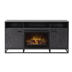 """You'll love the Sander 66"""" TV Stand with Fireplace at Wayfair - Great Deals on all Furniture products with Free Shipping on most stuff, even the big stuff."""