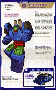 Transformer of the Day: Dropshot
