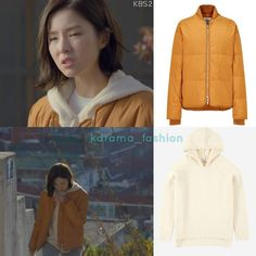 """RepostBy kdrama_fashion: """"Shin Se-Kyung wore STUDIO TOMBOY [ESSENTIAL] 2017FW Two-Way Short Down Jumper_Yellow ₩299,000 (USD 275) and ANDERSSON BELL Unisex Cashmere Blend Hoodie Sweater_Ivory $173.39(Sold Out) in Black Knight Drama Episode 3. Photo credit to rightful owner. #shinsekyung #신세경 #흑기사 #드라마패션 #패션스타그램 #스타패션 #스튜디오톰보이 #studiotomboy #anderssonbell #앤더슨벨 #blackknight #shinsekyungstyle #junghaerastyle #kdrama_fashion #kfashion #kstyle #kdramastyle #셀럽패션 #셀럽스타일 #연예인패션 #연예인착용 #신세경스타일…"""