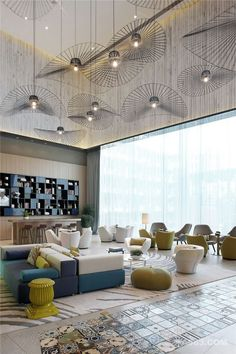Lighting fixtures, colors and textures
