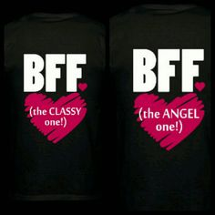 Check out this item in my Etsy shop https://www.etsy.com/listing/476409969/bff-shirts-bf-shirts-best-bitchesbest