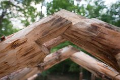 Off-Grid Timber Frame & Straw Bale Building: Grindbygg Timber Framing: Rafters, Part Two