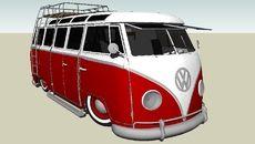 3D-Modell von vee dub 23 window v2.0