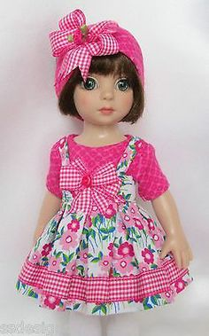 """PATSY'S PINK AND PRETTY! FOR 10"""" ANN ESTELLE, ETC. MADE BY SSDESIGNS"""