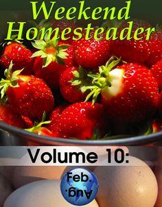 FREE e-Book: Weekend Homesteader Gardening Tips {strawberries