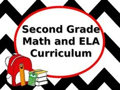 Second Grade Curriculum Overview for CCLS