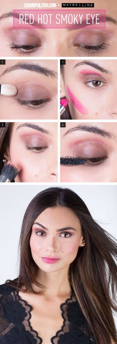 How to Use Lipstick to Create a Colorful Smoky Eye - Prepare to look smokin' yet still professional.