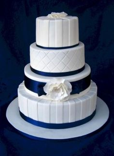 Gold Wedding Cakes alexia dives posted Pretty Navy Wedding Cake, maybe add coral touches to their -wedding cakes- postboard via the Juxtapost bookmarklet. Navy Blue Wedding Cakes, Heart Wedding Cakes, Round Wedding Cakes, Elegant Wedding Cakes, Cool Wedding Cakes, Wedding Cake Designs, Round Cakes, Yellow Wedding, Trendy Wedding