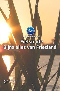 🚲 Fietsroute Bijna alles van Friesland #Friesland #Cultuur #Natuur #Fietsen #Fietsroutes