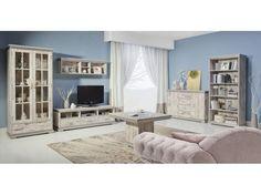 Obývací sestava Modesto v rustikálním stylu Vintage Stil, Retro, Modern, Sweet Home, Entryway, Gallery Wall, Room, Furniture, Home Decor