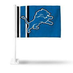 Official NFL Detroit Lions Car Flag 301620