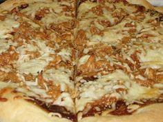 BBQ Chicken Pizza - our family favorite