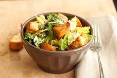 Caesar Salad (with a new dressing)