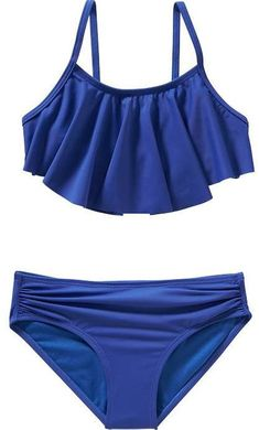 49f37e0ae03f7 Help her feel great in and out of the water with Old Navy girls' swimwear.  Shop swimwear for girls.