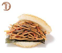 おいしいそう!きんぴらバーガー食べたい!  Kinpira Burger was always my favourite burger from MOS burger in Japan!