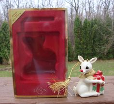 2002 Lenox Rudolph The Red Nose Reindeer 2nd in Series Ornament - Original Box