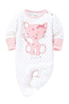 Buy Cat Sleepsuits Three Pack (0mths-2yrs) from the Next UK online shop